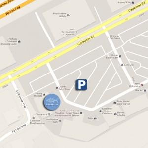 SUGARFISH Calabasas Map