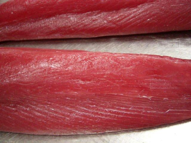 2 loins of tuna