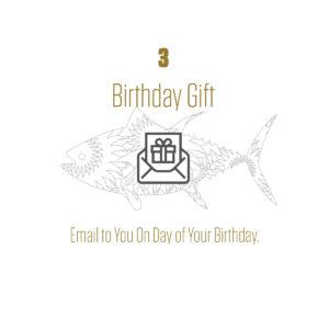 Birthday Club Gift Email Graphic