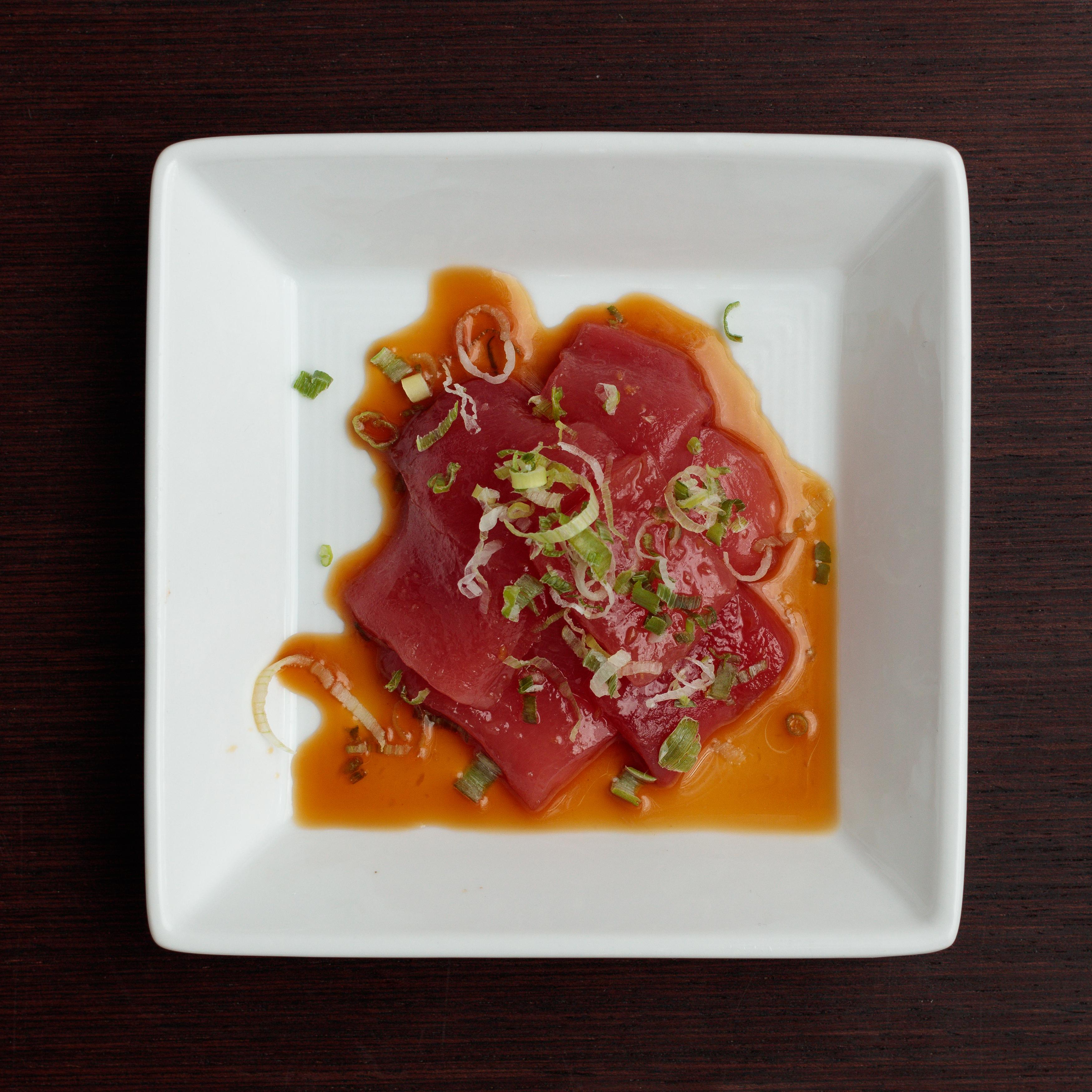 Dish of Toro Sashimi