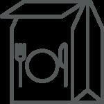 Take-Out Bag Icon